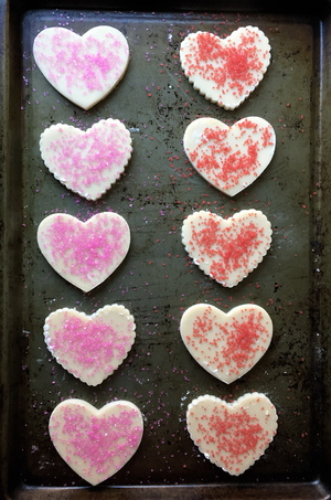 Silver Palate Shortbread Hearts